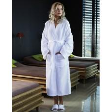 Constance Waffle Pique Bath Robe [bela]