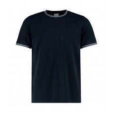 Fashion Fit Tipped Tee [barvna]