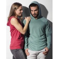 Cecil Unisex LS Hooded T-Shirt [barvna]