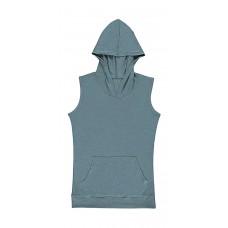 Cecilia Women`s Sleeveless Hooded T-Shirt [barvna]