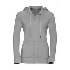 Ladies` HD Zipped Hood Sweat [barvna]
