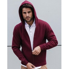 Men`s Authentic Melange Zipped Hood Sweat [barvna]