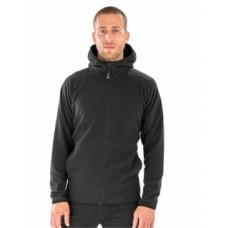 Hooded Recycled Microfleece Jacket [barvna]