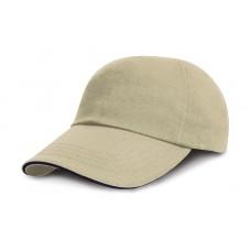 Brushed Cotton Sandwich Cap [barvna]