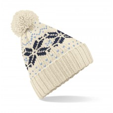 Fair Isle Snowstar® Beanie [barvna]