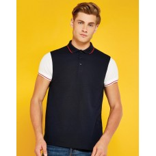 Fashion Fit Contrast Tipped Polo [barvna]