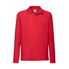 Kids 65/35 Long Sleeve Polo [barvna]