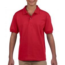 Kids` DryBlend® Jersey Polo [barvna]