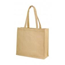 Calcutta Long Handled Jute Shopper Bag [barvna]