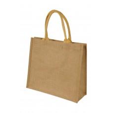 Chennai Short Handled Jute Shopper Bag [barvna]