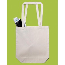 Baby Canvas Cotton Bag LH with Gusset [barvna]