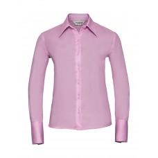 Ladies` Ultimate Non-iron Shirt LS [barvna]