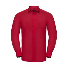 Tailored Poplin Shirt LS [barvna]