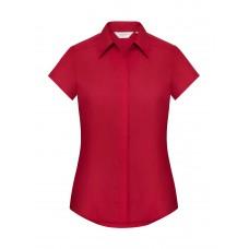 Ladies` Fitted Poplin Shirt [barvna]