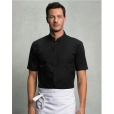 Bargear Bar Shirt Mandarin Collar [barvna]
