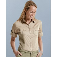 Ladies` Roll 3/4 Sleeve Shirt [barvna]
