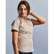 Ladies` Roll Sleeve Shirt [barvna]