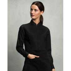 Bargear™ Mandarin Collar Shirt Lady LS [barvna]