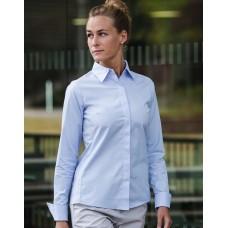 Ladies` LS Ultimate Stretch Shirt [barvna]