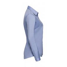 Ladies` LS Herringbone Shirt [barvna]