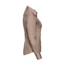 Ladies` Classic Twill Shirt LS [barvna]