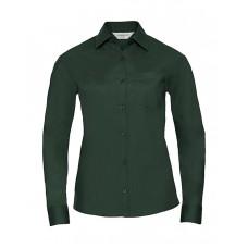 Ladies` LS Poplin Shirt [barvna]