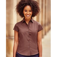 Ladies` Easy Care Fitted Shirt [barvna]