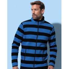Active Striped Fleece Jacket Men [barvna]