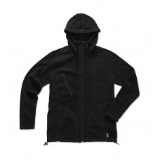 Active Hooded Fleece Jacket [barvna]